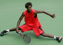 GaelMonfils and his EXO3 prince racquet